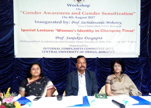 Workshop on Gender Awareness and Gender Sensitization