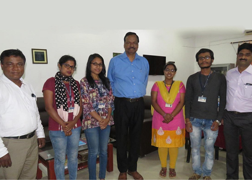 Campus selection at the CUO, Koraput