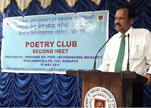 2nd Meet of the Poetry Club at the Central University of Odisha