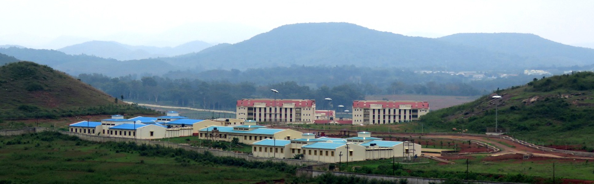 Central University of Orissa, Campus