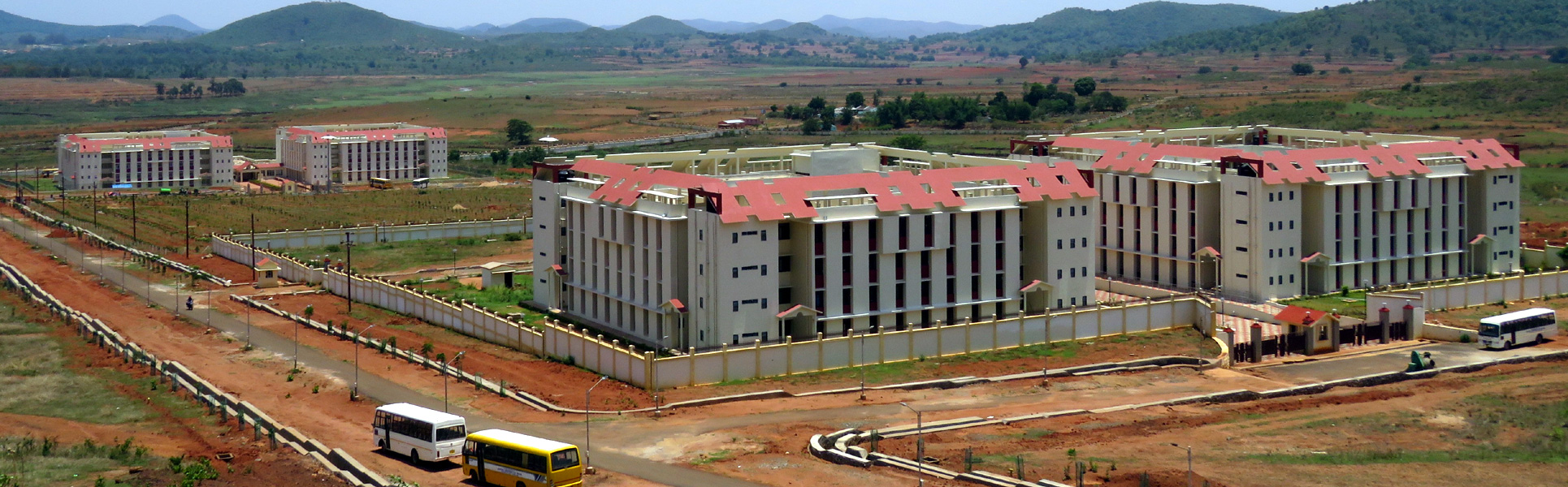 Central University of Orissa, Hostels