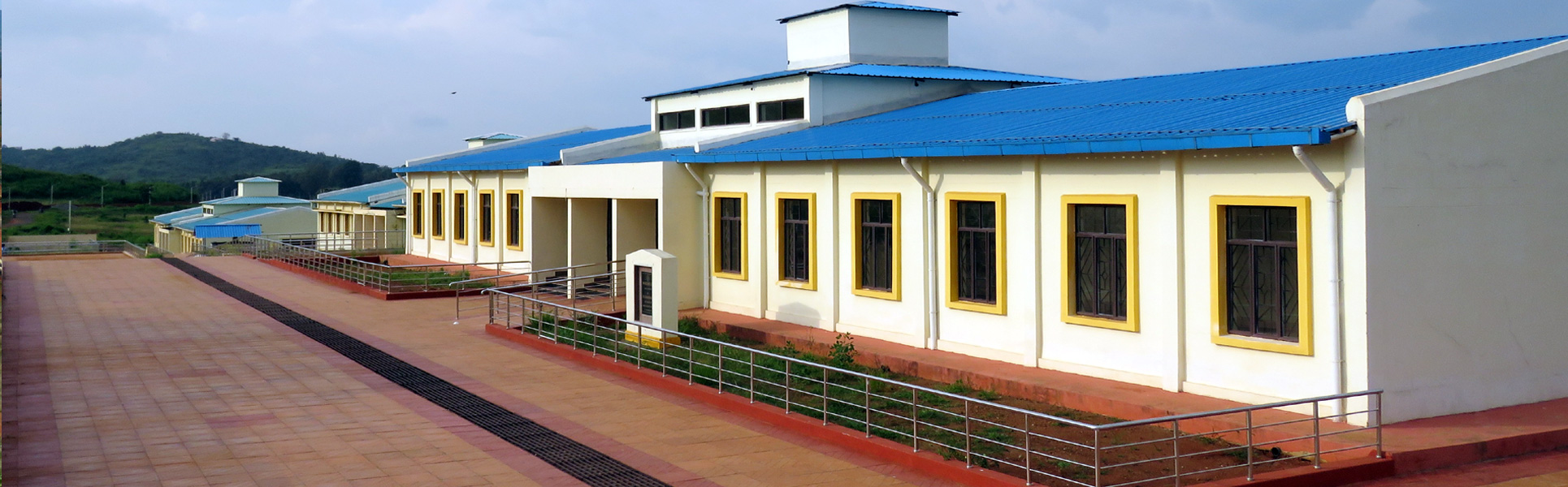 Central University of Odisha, Academic Block