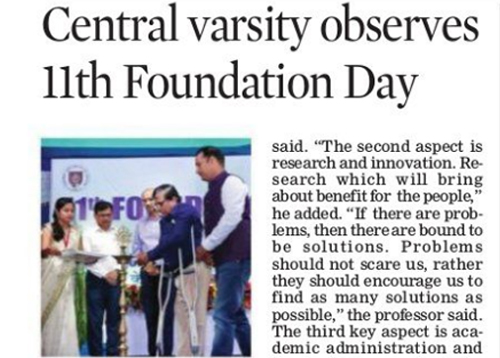 Celebration of 11th Foundation Day